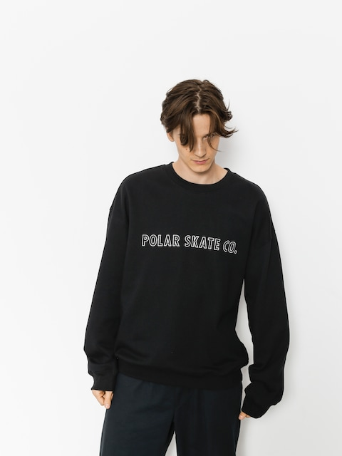 Polar Skate Sweatshirt Outline (black)
