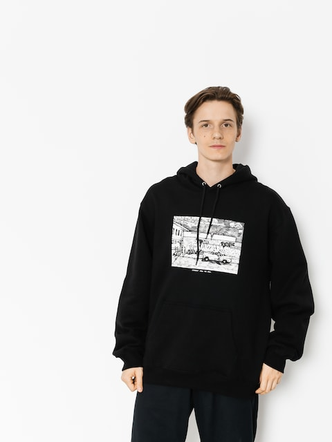Polar Skate Hoodie Straight From The Hood HD (black)