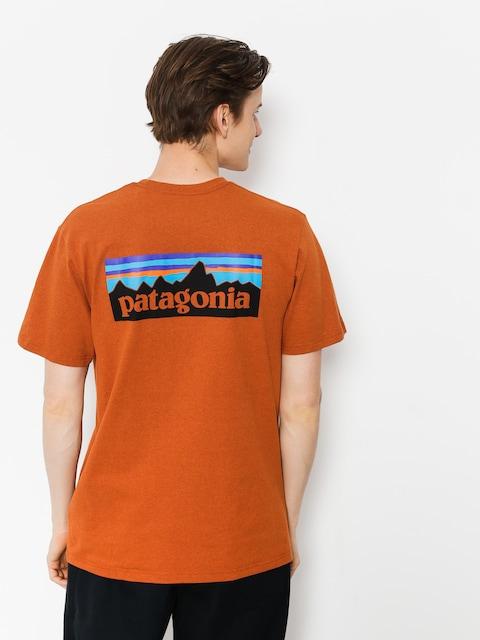 Patagonia T-shirt Logo Responsibili (copper orange)
