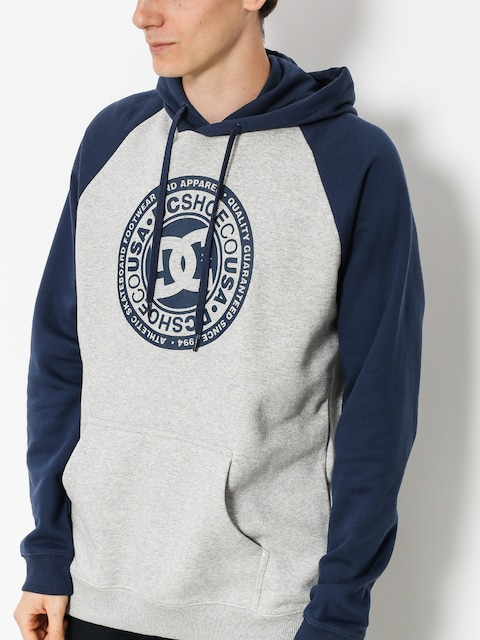 DC Hoodie Circle Star HD (black iris/grey heather)