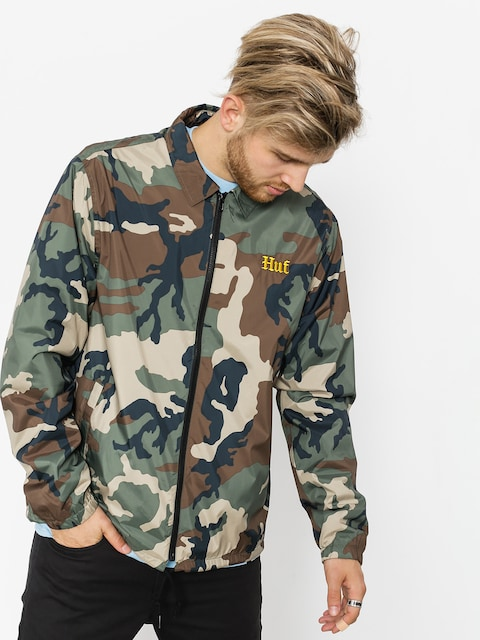 HUF Jacke Ensenada Coaches (woodland camo)