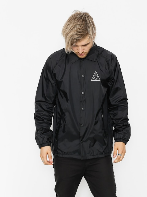 HUF Jacke Essentials TT Coaches (black)