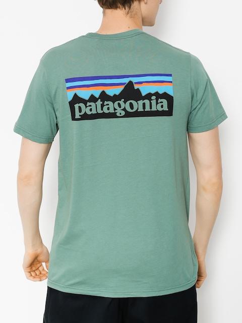 Patagonia T-shirt Logo Organic (pesto)