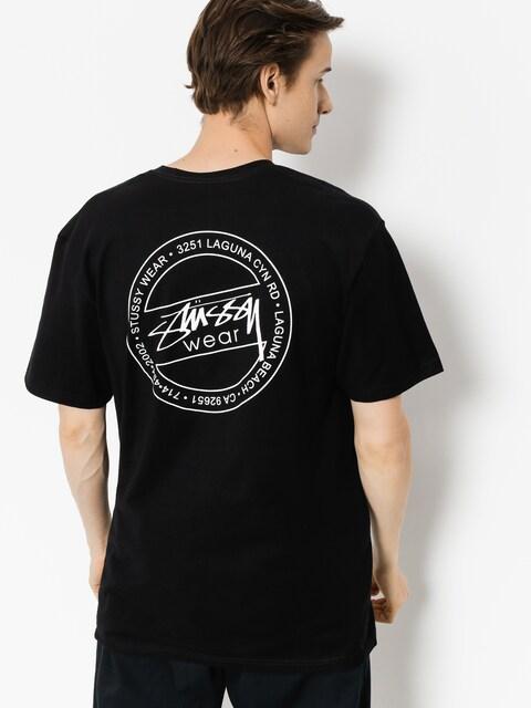 Stussy T-shirt Laguna Dot (black)