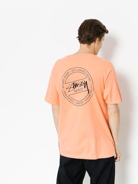 Stussy T-shirt Laguna Dot (salmon)