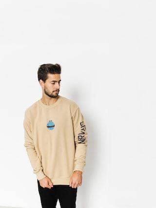 Nervous Sweatshirt Globe (nude)