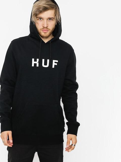 HUF Hoodie Essentials Og Logo HD (black)