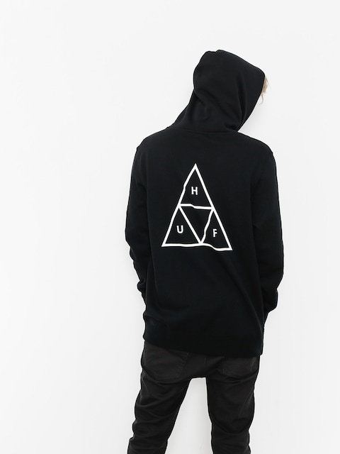HUF Hoody Essentials TT HD (black)