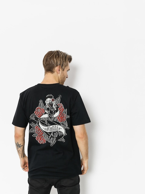 Malita T-shirt Pin Up (black)
