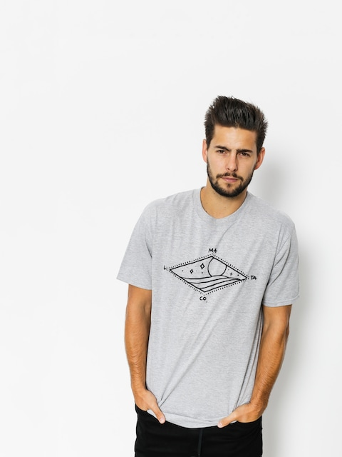 Malita T-Shirt Diamond (heather grey)