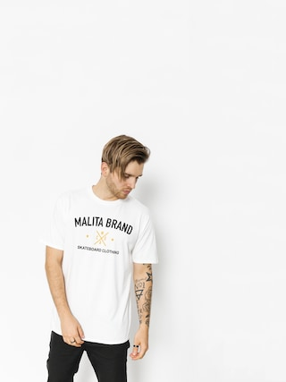 Malita T-Shirt Brand (white)