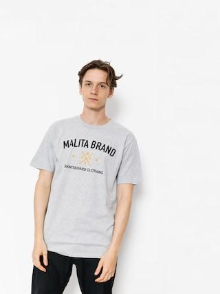 Malita T-shirt Brand (heather grey)