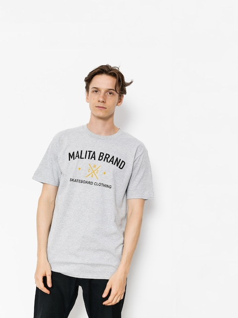 Malita T-shirt Brand (heather grey)