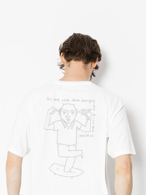 Polar Skate T-Shirt Click (white)