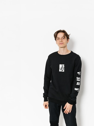 Volcom Sweatshirt Supply Stone Crew (blk)