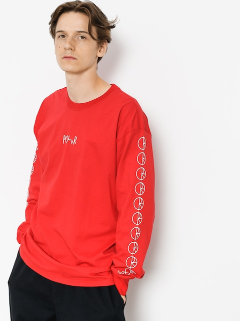 Polar Skate Longsleeve Racing (red)