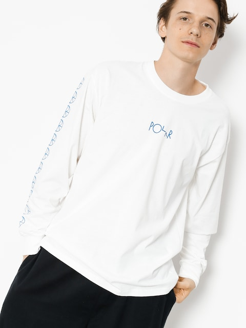 Polar Skate Longsleeve Racing (white)
