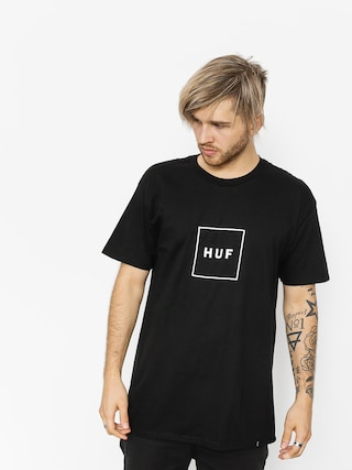 HUF T-shirt Essentials Box Logo (black)