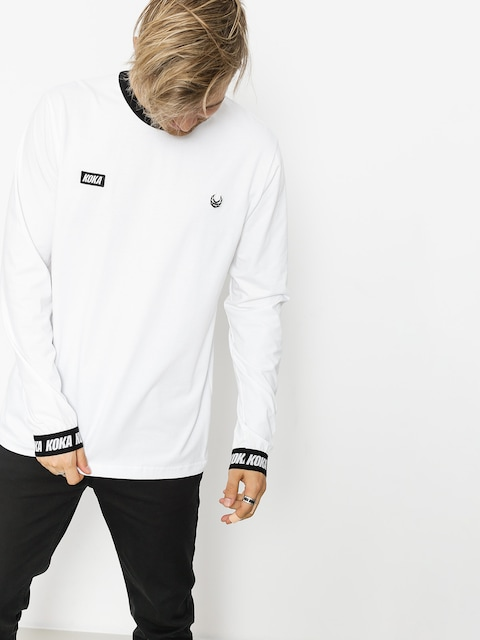 Koka Longsleeve Both (white)