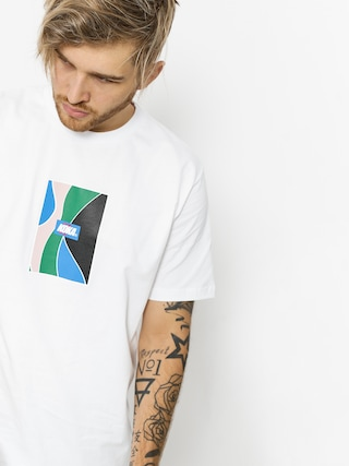 Koka T-shirt Glass (white)