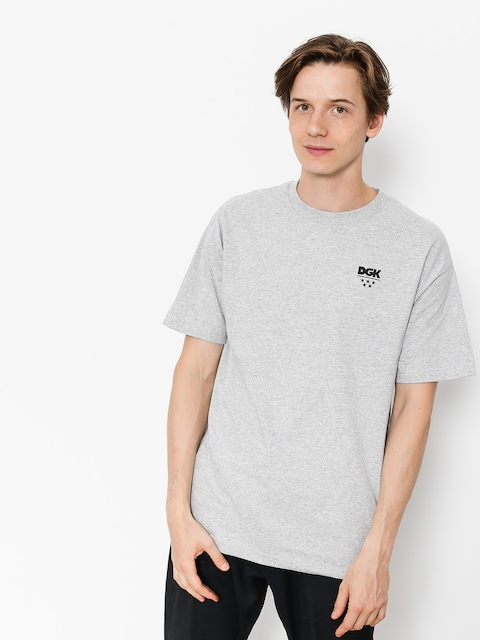 DGK T-shirt All Star Minilogo (athletic heather)