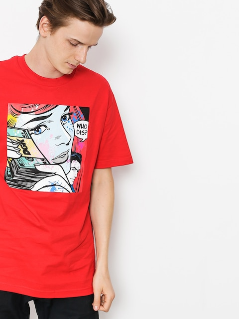 DGK T-shirt Who Dis (red)
