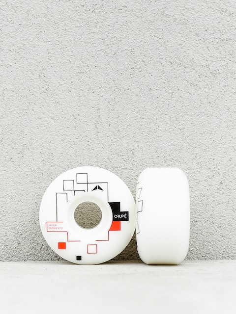 Crupie Wheels Javier Sarmiento Metric (white)