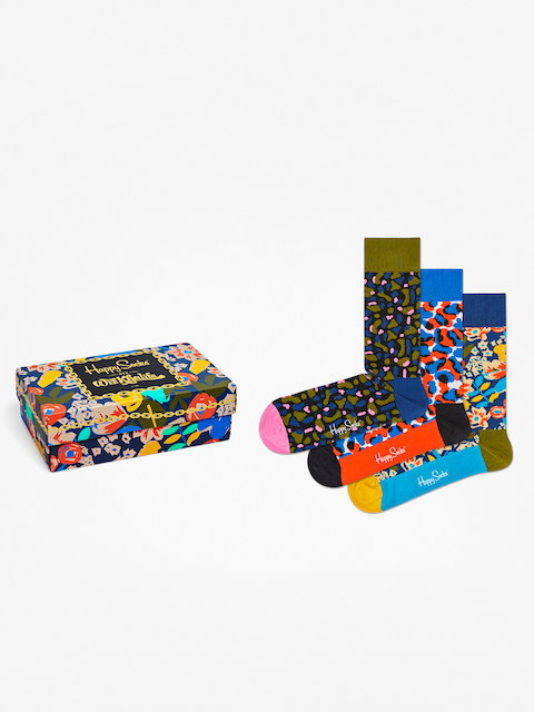 Happy Socks Socks Giftbox 3pk Wiz Khalifa (multi)