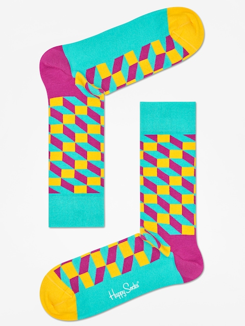 Happy Socks Socks Filled Optic (teal/multi)