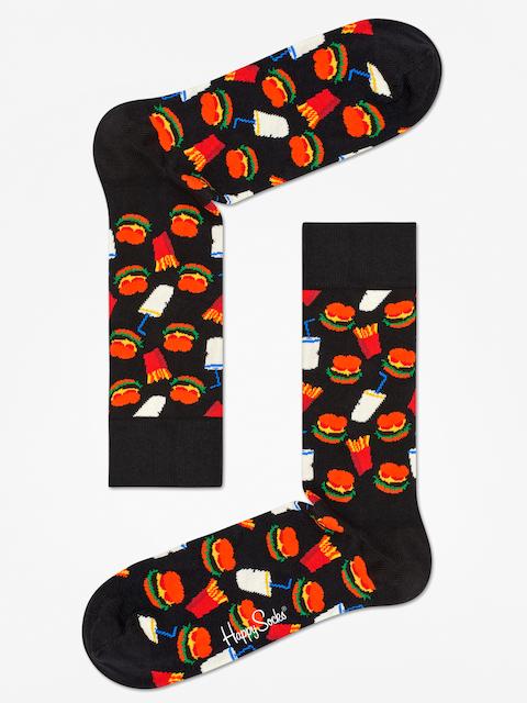Happy Socks Socks Hamburgers (black/white)
