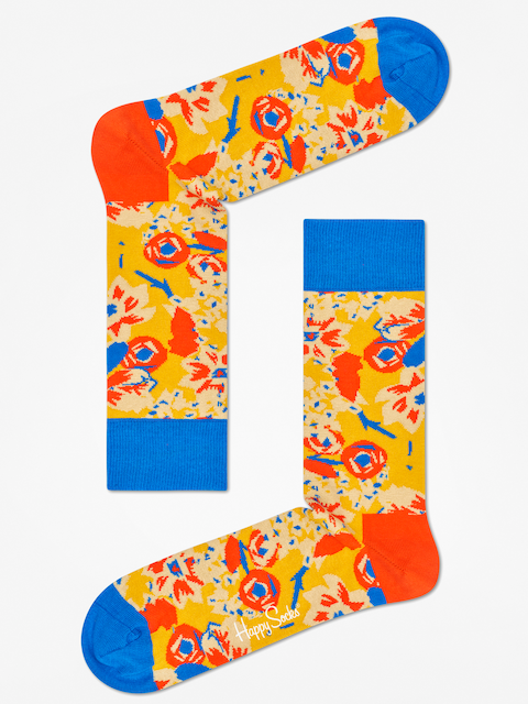 Happy Socks Socks Wiz Khalifa (yellow/blue/orange)