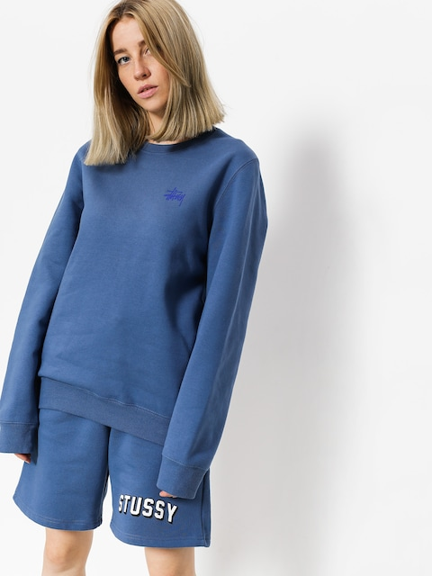 Stussy Sweatshirt Basic Wmn (cool blue)