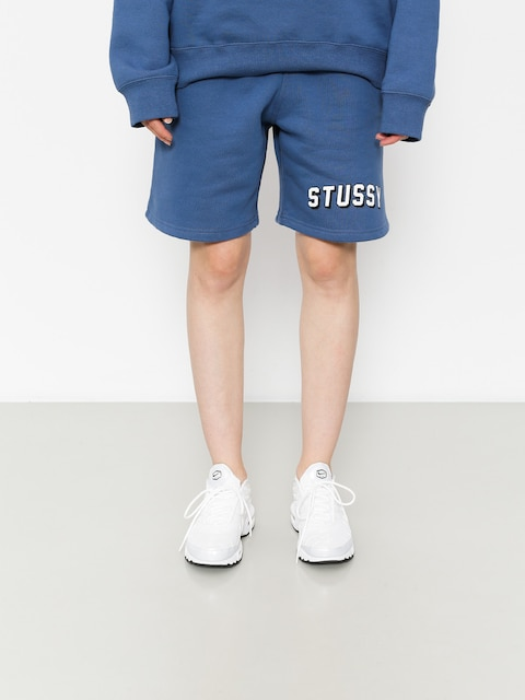 Stussy Shorts Collegiate Sweatshort Wmn (cool blue)