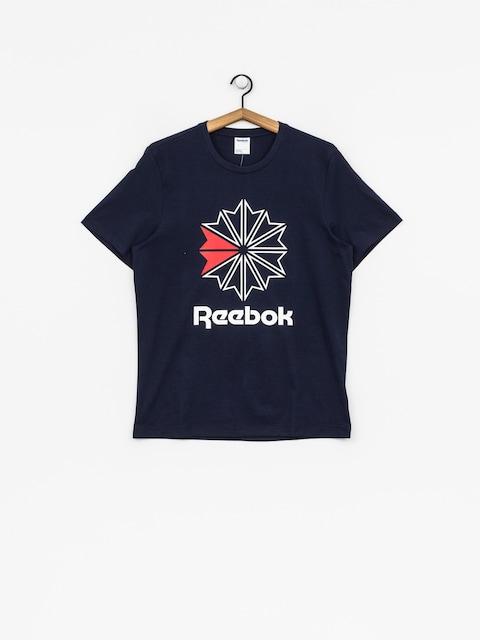 Reebok T-Shirt F Gr (collegiate navy/white/primal red)