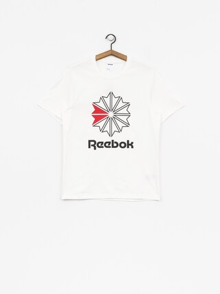 Reebok T-shirt F Gr (white/black)