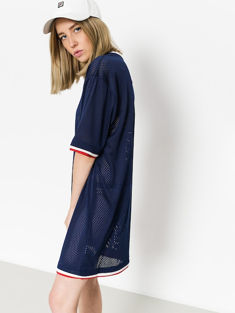 Fila Dress Drew Mesh Wmn (peacoat/red/white)