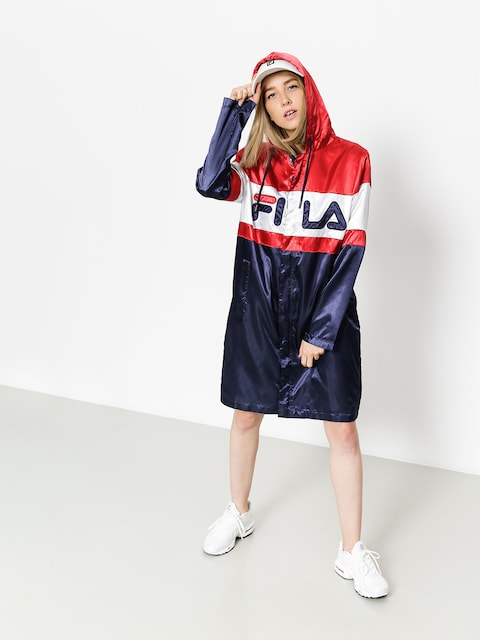 Fila Jacke Karis Long Line Wmn (peacoat/red/white)
