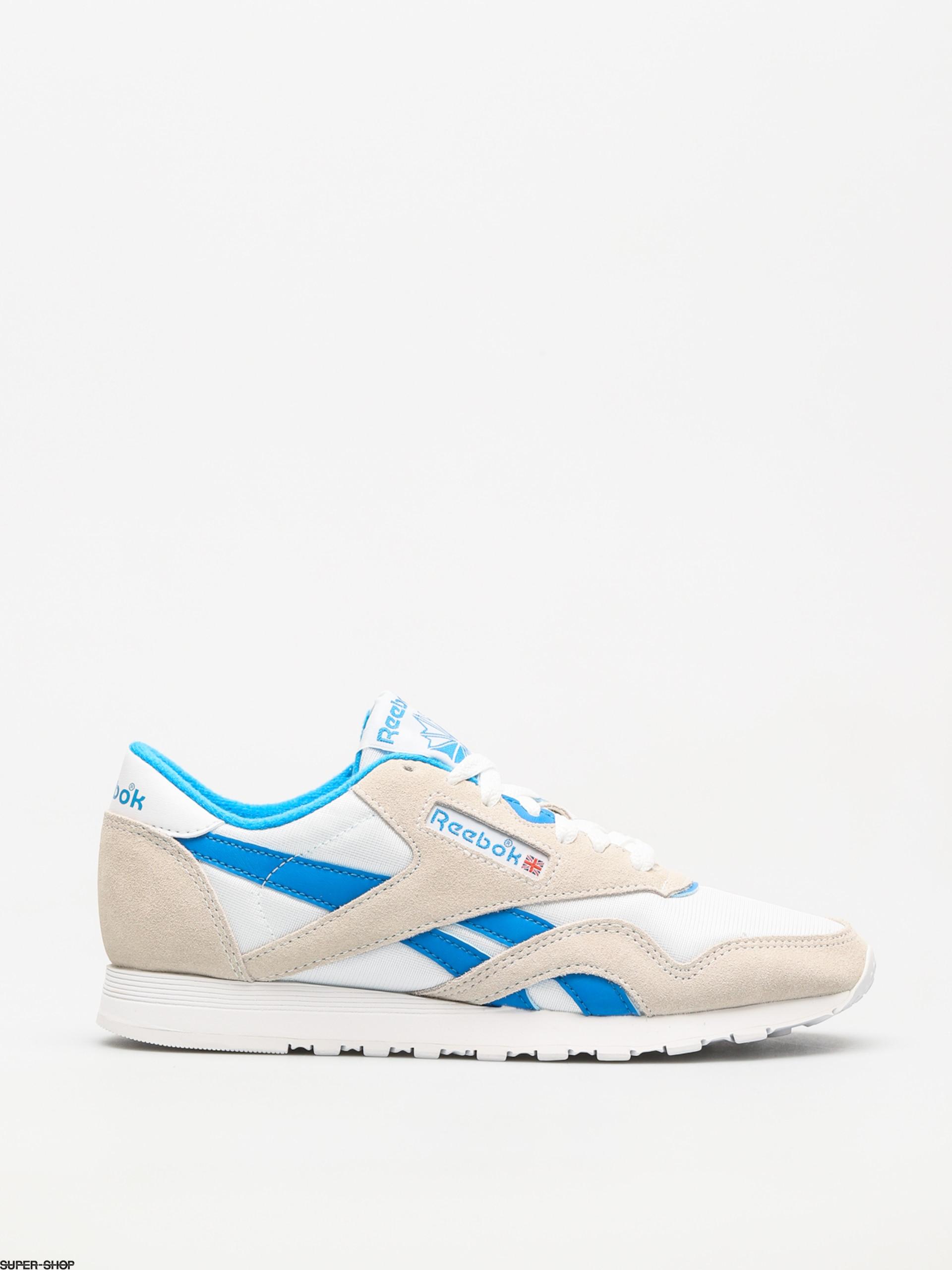 competitive price e212c bab17 Reebok Schuhe Cl Nylon Wmn (archive white/cycle blue)