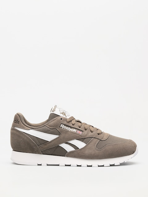 Reebok Shoes Cl Leather Mu (estl terrain grey/white)