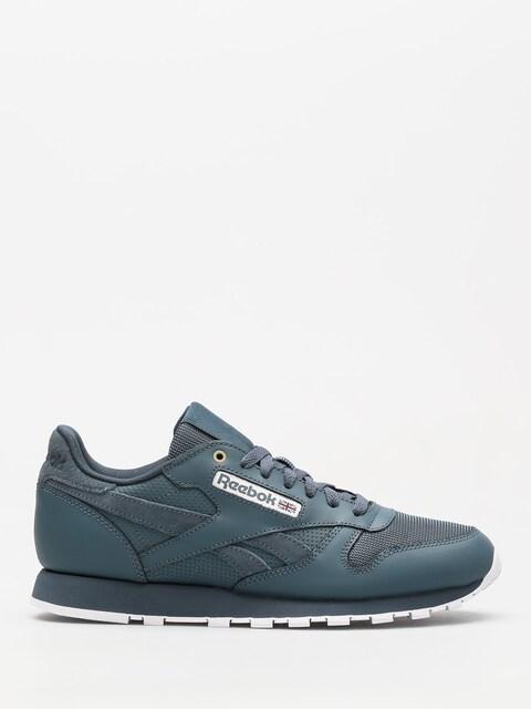 Reebok Schuhe Cl Leather Mu (mc deep sea/mt fuji/white)