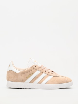 adidas Originals Gazelle Shoes Wmn (ashpea/ftwwht/linen)