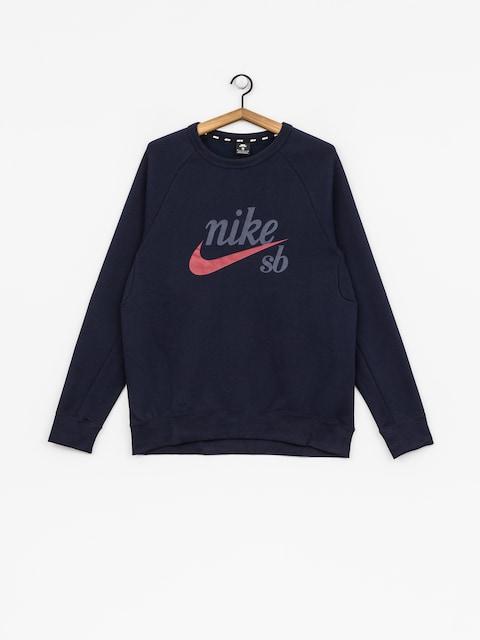 Nike SB Sweatshirt Sb Icon (obsidian/red crush)