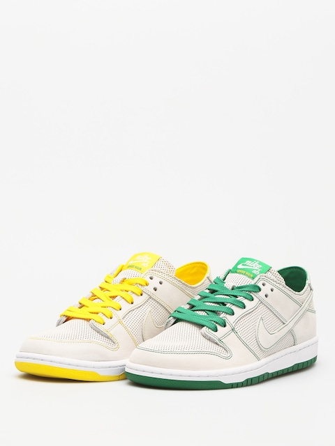 Nike SB Schuhe Sb Zoom Dunk Low Pro Decon Qs (white/white aloe verde)