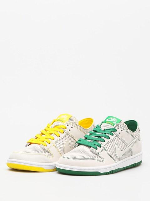 Nike SB Shoes Sb Zoom Dunk Low Pro Decon Qs (white/white aloe verde)