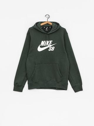 Nike SB Hoodie Sb Icon HD (midnight green/white)