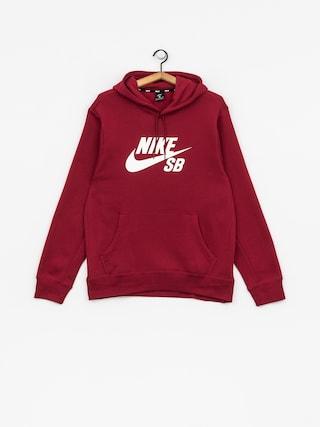 Nike SB Hoodie Sb Icon HD (red crush/white)