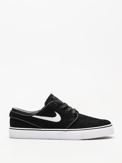 Nike SB Shoes Zoom Stefan Janoski (black/white thunder grey gum light brown)