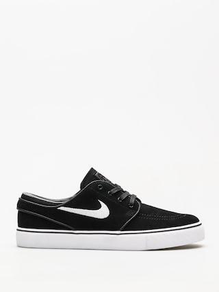 Nike SB Shoes Zoom Stefan Janoski (black/white thunder grey gum light brown)