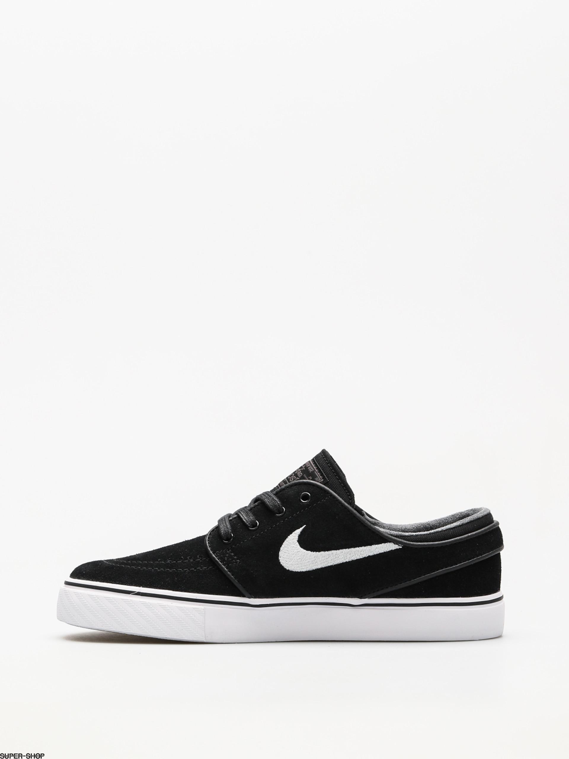 best website 6301b 50a5c Nike SB Shoes Zoom Stefan Janoski (black white thunder grey gum light brown)