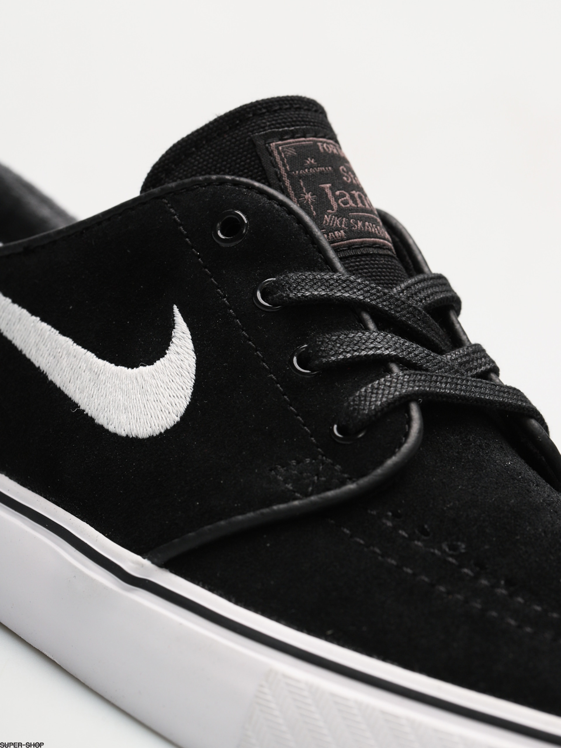 ee470a04b782 Nike SB Shoes Zoom Stefan Janoski (black white thunder grey gum light brown)